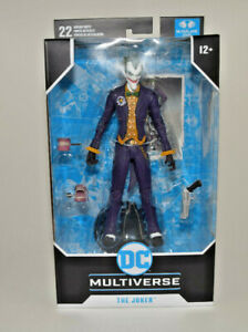DC-Multiverse-The-Joker-Batman-Arkham-Asylum-McFarlane-Toys-7-034-Figure-Brand-NEW