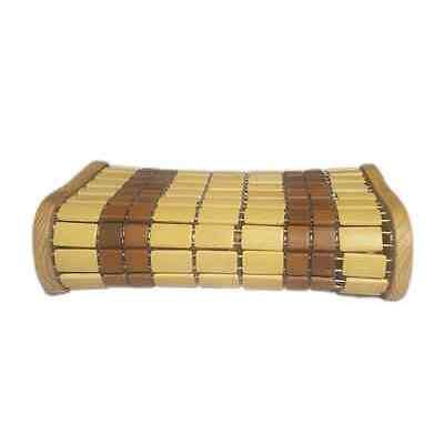 Saunakissen Kopfstütze Holzkissen Kopfkeil Rückenlehne Relax Backrest Pillow