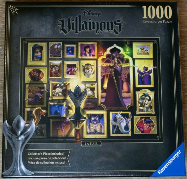Disney Villains Jigsaw Puzzle, Villainous Jafar - New Ravensburger, 1000 Pieces