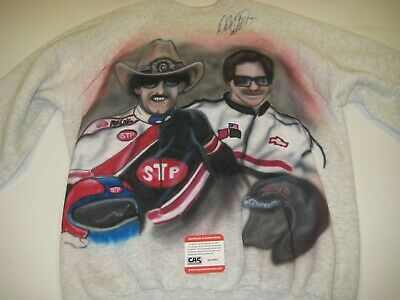 Sports Mem, Cards & Fan Shop Autographs-original Practical Dale Earnhardt Autographed Shirt W/cas Coa Free Shipping Curing Cough And Facilitating Expectoration And Relieving Hoarseness