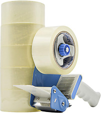 Tape Clear Packing Tape 6 Rolls Heavy Duty Packing Tape For Box Office Moving Nw