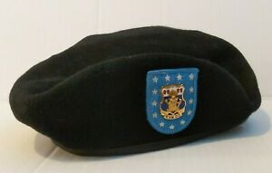US-Army-Beret-Hat-W-Unit-Crest-Pin-7-1-4-Size-15th-Infantry