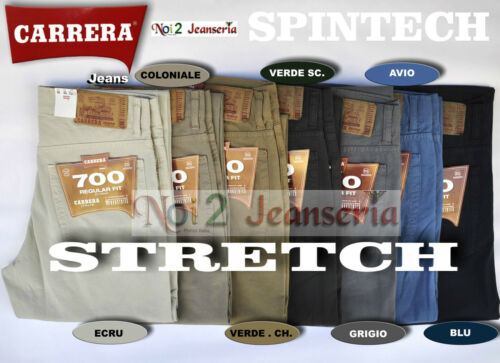 CARRERA PANTALONE LEGGERO STRETCH MOD 700 NEW SPINTECH Mis DA 46 A 62