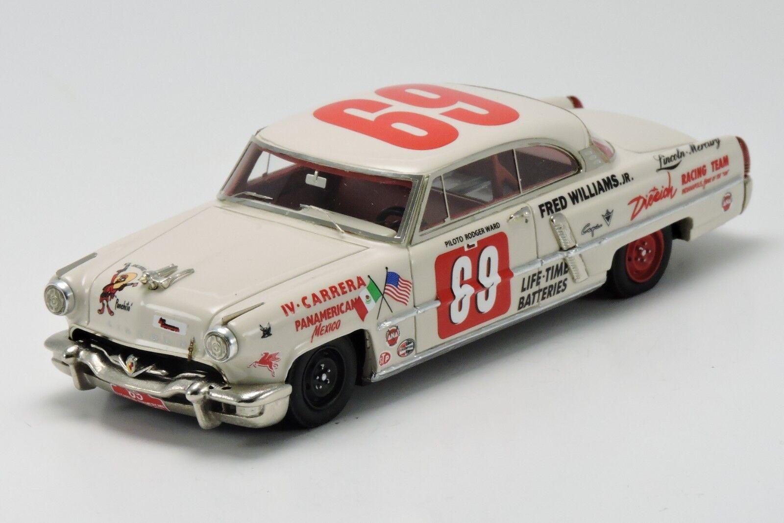 kit Lincoln Capri III Carrera Panamericana 1953  69 - Arena Models kit 1 43