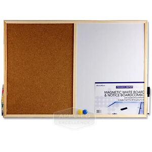 Image Is Loading Magnetic Whiteboard Combination Board Office Depot Cork 600