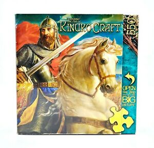 MasterPieces-The-Warrior-King-550-PC-Jigsaw-Puzzle-60602-Kinuko-Craft-Medieval
