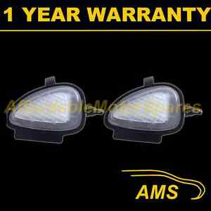 2X-FOR-VOLKSWAGEN-SCIROCCO-2009-14-18-WHITE-LED-UNDER-MIRROR-PUDDLE-LIGHT-LAMPS