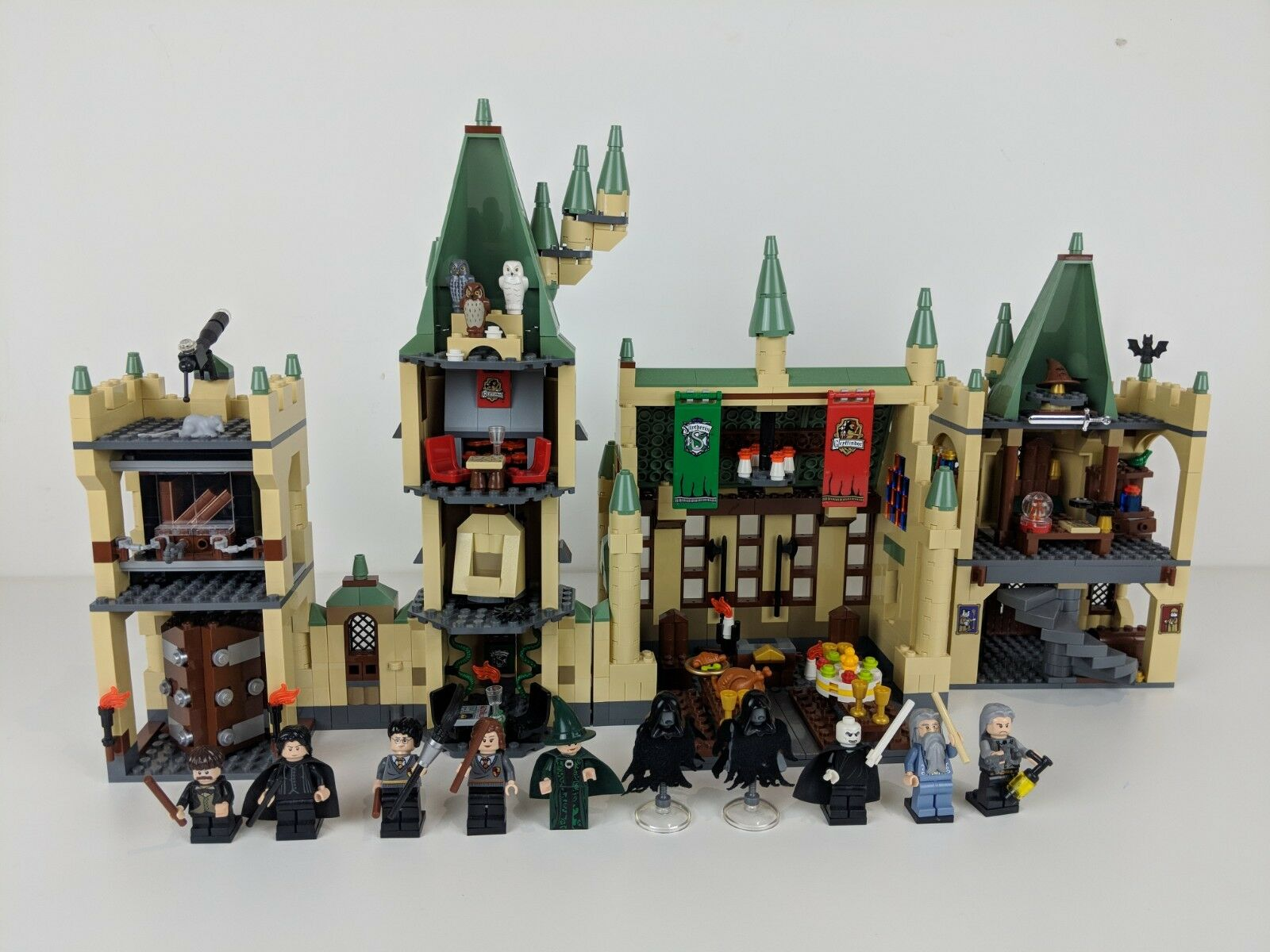 Harry Potter LEGO 4842 4867 Castello di Hogwarts Set  2010  Minifigures e Accessori