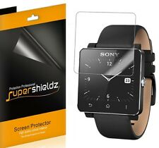 6X Supershieldz HD Clear LCD Screen Protector Shield Saver For Sony Smartwatch 2
