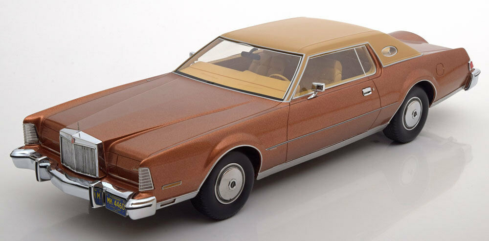 1974 Lincoln Continental Mark IV Luxus Brown Met. BoS Models LE of 1000 1 18 New