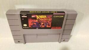 SNES-X-Men-Mutant-Apocalypse-Super-Nintendo-Authentic-Tested-OEM
