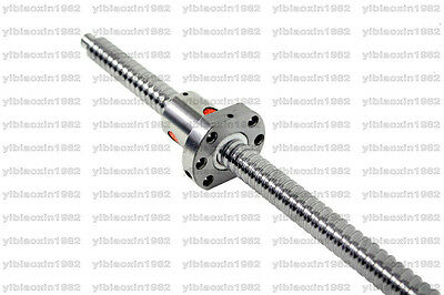 RM1605 Length 900mm Rolled Ballscrews with Ballnut and end-machined for CNC DIY