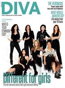 Diva Magazin März 2017 feminsim Ausgabe / Lesbisch Lifestyle / The Veronicas