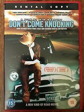 Sam Shepard Jessica Lange DON'T COME KNOCKING ~ 2005 Wim Wenders | Rental UK DVD