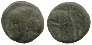Ancient Authentic Greek Coin To Classify 1,9g/12mm @sav1210.11ds Belebende Durchblutung Und Schmerzen Stoppen Münzen