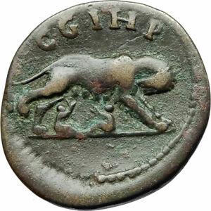 COMMODUS-188AD-Parium-Parion-Mysia-Authentic-Ancient-Roman-Coin-WOLF-i76073