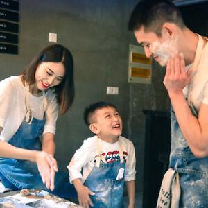 Family-Denim-Apron-Adult-amp-Child-Matching-Cooking-Baking-Gardening-Parents-Kids