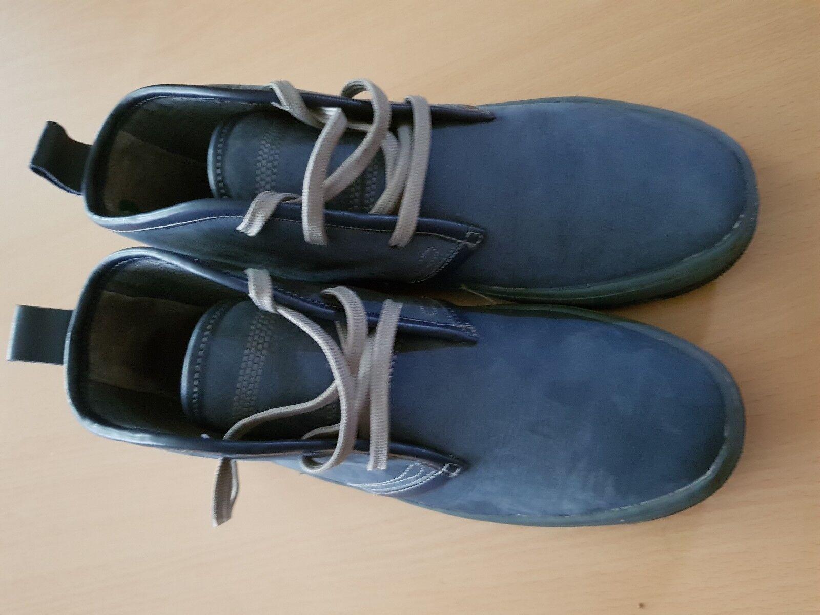 Woodland Herrenschuhe Schnürstiefel boots / blau Gr. 8 / 42 / boots 28 9a7ea3