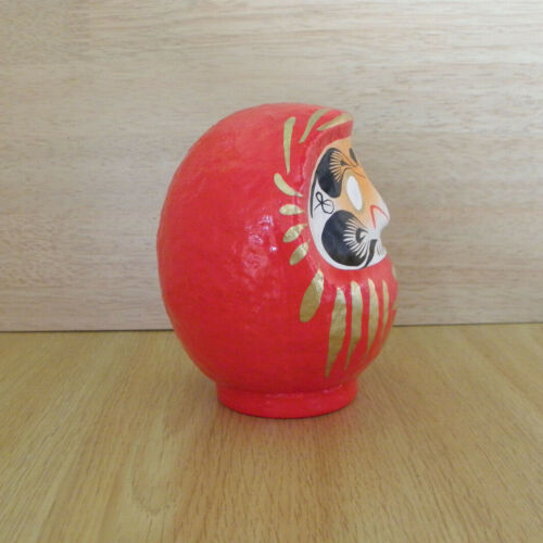 a pair of small Daruma Doll in red /& purple colors No 1 size with a marker pen