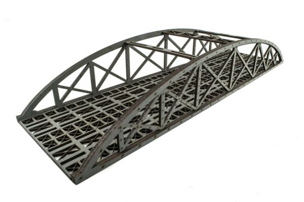 Generoso Wws Double Mdf Grey Hi-detail Bowstring Bridge Choose Length–oo/ho Modelrailway Essere Distribuiti In Tutto Il Mondo