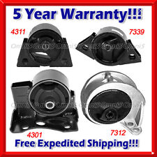 K008 Fits 99-02 Infiniti G20 Engine Motor &Trans. Mount for Auto Trans.(4pc Set)