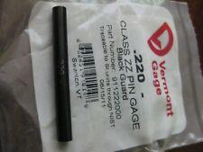 Vermont Gage 911222000 Pin Gageminus0220 In Black Usa