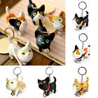 Valentine Lovers Gift Cat Kitten Key Chain Handbag Pendant Keychain Keyring Toy