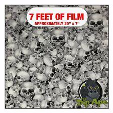 Hydrographic Film True Skulls Hydro Dipping 7 X 20 Hydro Dip