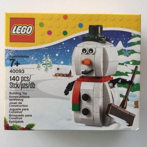 Lego 40093 Seasonal Schneemann Weihnachten NEU und OVP