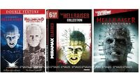 Hellraiser Complete Movies Collection Series 1-9 (1 2 3 4 5 6 7 8 9) Dvd Set