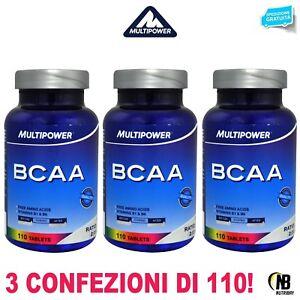 MULTIPOWER-Bcaa-330-Compresse-Aminoacidi-Ramificati-con-Vitamina-B6-B1-OMAGGIO