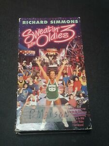 Richard-ichard-Simmons-Sweatin-To-The-Oldies-III-VHS-1993-Aerobic-Concert