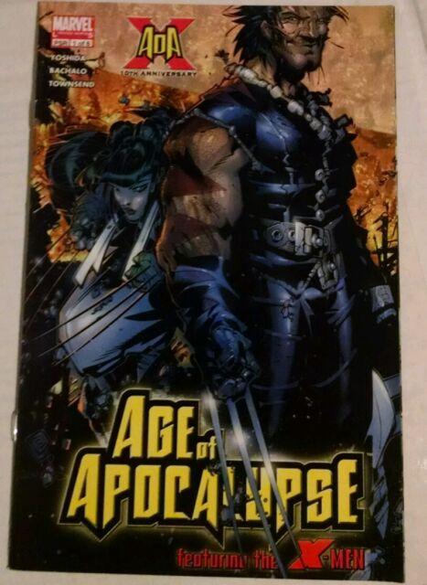 X-Men: Age of Apocalypse #1 (May 2005, Marvel)-YOSHIDA & BACHALO(combined shipp)