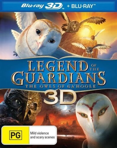 1 of 1 - Legend Of The Guardians - The Owls Of Ga'hoole (2D Blu-ray only, 2011)