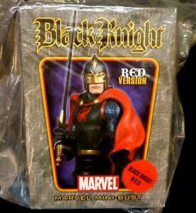Black-Knight-RED-Bust-Statue-Factory-Sealed-Bowen-Designs-Marvel-Avengers