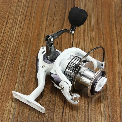 14BB Ball Bearing Fishing Spinning Reel Saltwater Freshwater Folding Arm 5:2:1