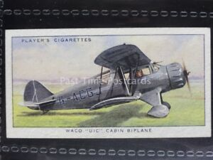 Details about No 39 WACO UIC CABIN BIPLANE (USA) - Aeroplanes, Civil - John  Player 1935