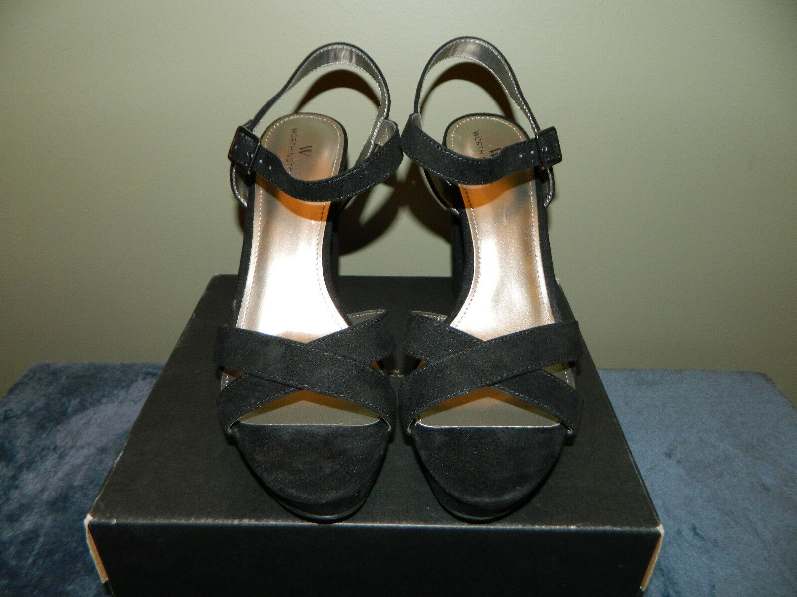 Worthington WOR SABLE Black Womens Pumps SZ 8.5M Brand New