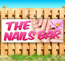 The Nails Bar Advertising Vinyl Banner Flag Sign Many Sizes Usa Salon