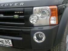 Para Land Rover Discovery 3 Cromo Luz de niebla rodea Cubierta Trim Set