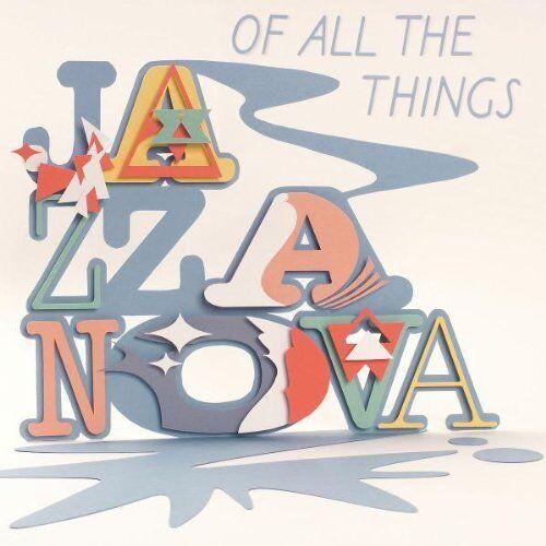 1 von 1 - Jazzanova - Of All The Things  -CD-  NEUWERTIG!