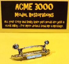 Spot On Tri-ang 289 Morris Minor 1000 Reproduction Repro Chrome Front Bumper