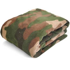 Mainstays Value Camo Blanket Soft Fleece Throw Comfortable SAME DAY SHIP!