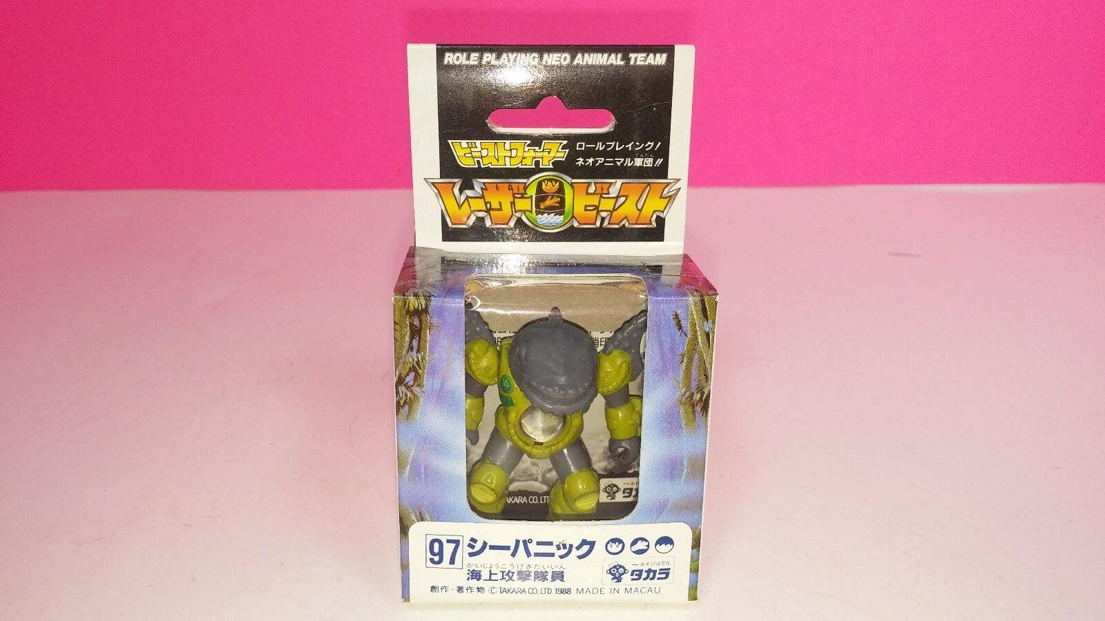 Takara Takara Takara Battle Beast Laser Beast Sea Panic 97 1988 Sealed New Whale a7fed3
