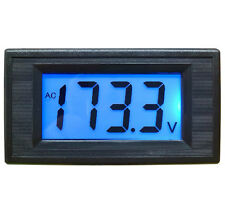 AC 80-500V 2-wire 3 1/2 Digital Blue  Hot Sale  LCD Panel Meter Voltage Cheap