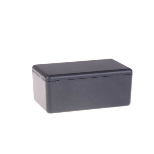Black Waterproof Plastic Electric Project Case Junction Box 60*36*25mm@3CA