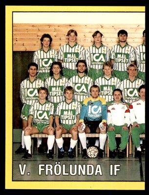 Panini fotboll 91 (Швеция) команда Вестра Фрелунда если номер | eBay