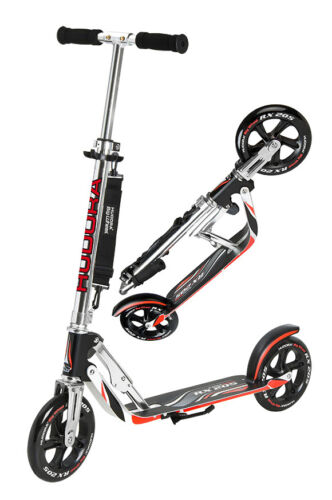 1 von 1 - Hudora Big Wheel RX 205 Racing Scooter Roller extra große Räder 14724