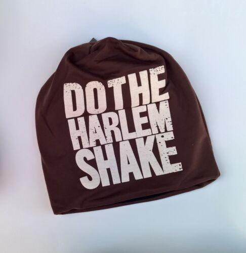 Beanie Mütze DO THE HARLEM SHAKE HipHop Fleece Manhattan New York Übergangsmütze
