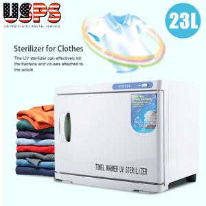 2in1-23L-Hot-Towel-Warmer-UV-Sterilizer-Cabinet-Salon-Nail-Spa-Beauty-Equipment